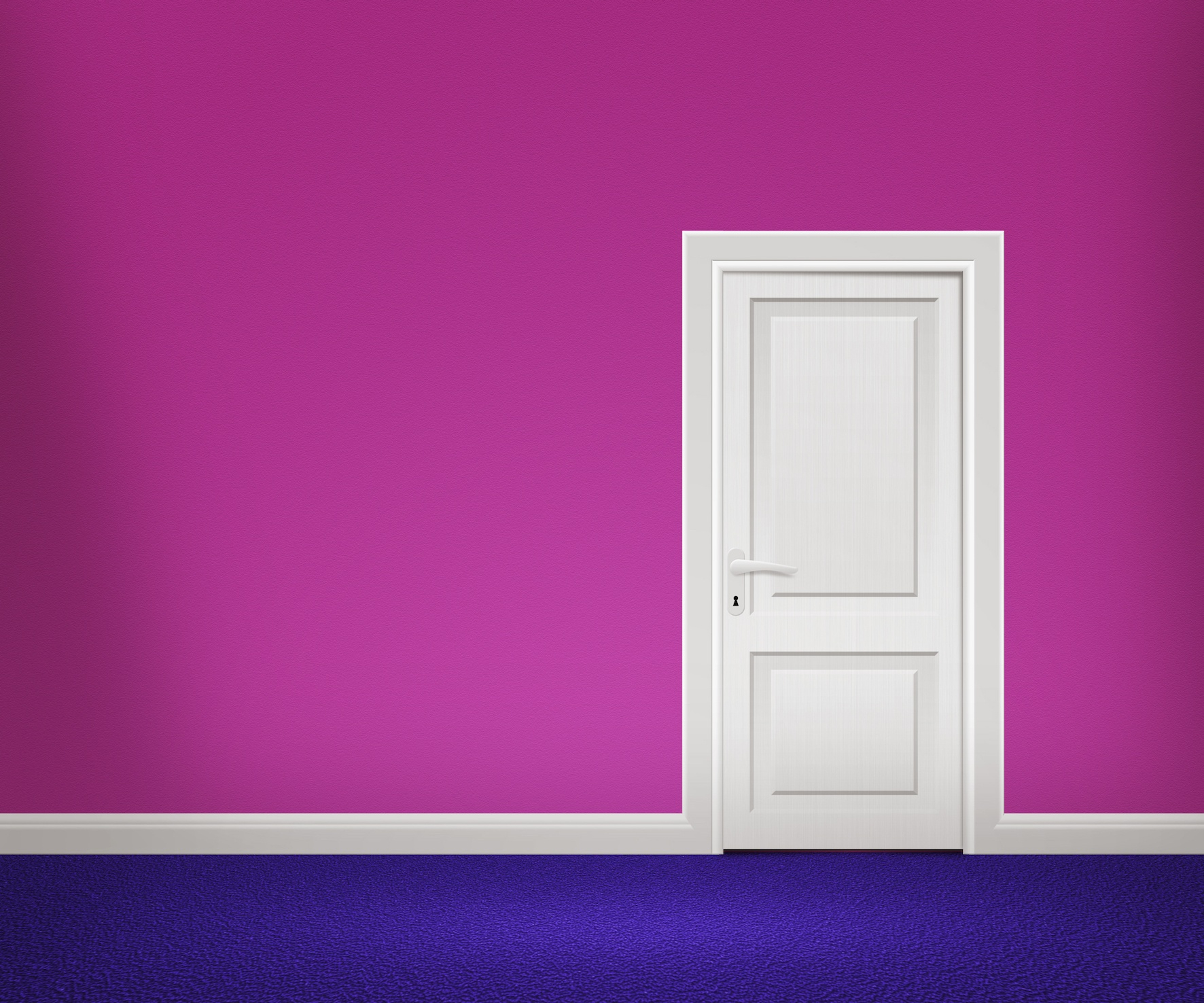 Door in Violet Room