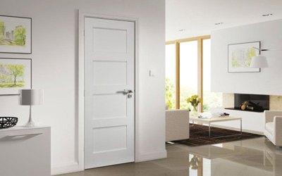 puertas de interior lacadas en blanco - Instalación Puertas Interior Barcelona